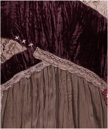 Joe Browns Stufenkleid Joe Browns Womens Folklore Style Dress with Mesh Long Sleeves