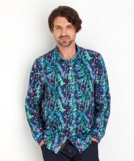 Joe Browns Hemd Joe Browns Men's Long Sleeved 80's inspired print Shirt