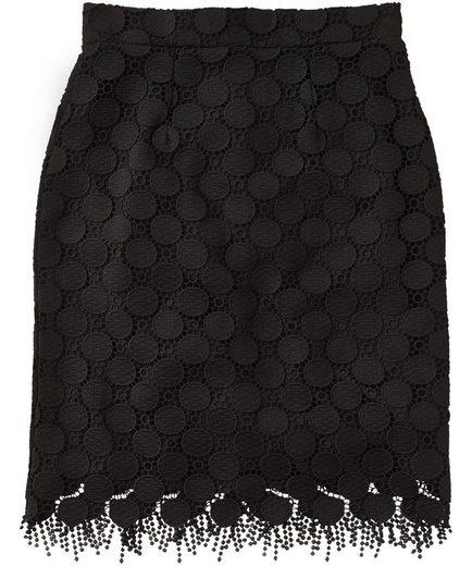 Joe Browns Bleistiftrock Joe Browns Women's Lace Mini Skirt with Fringe