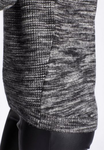 khujo Rollkragenpullover ABIYA, mit Labelpatch auf der Brust
