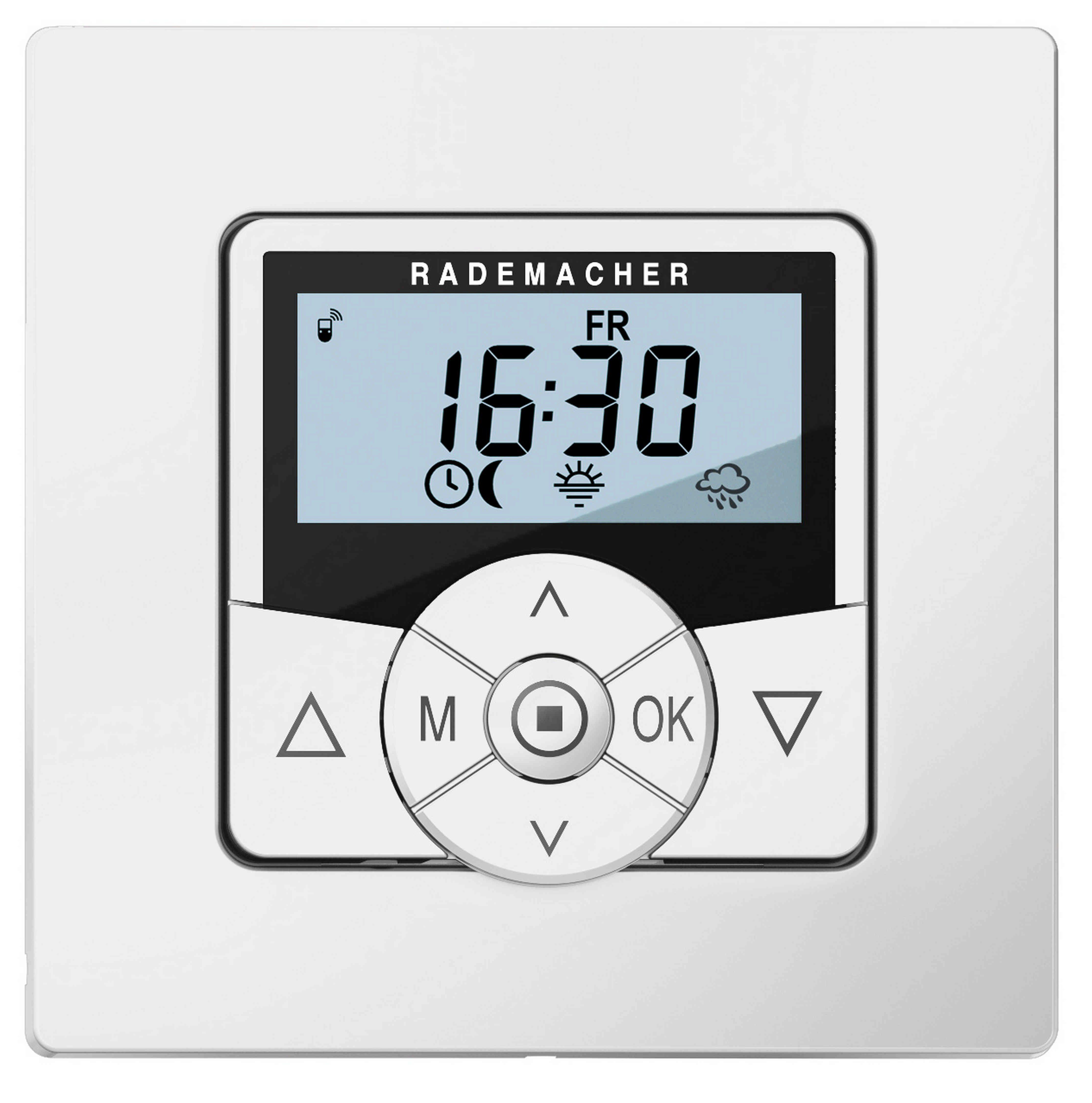 Rademacher Smart Home - Funkfähige Zeitschaltuhr für Rohrmotoren »Troll Comfort DuoFern 5665-UW«