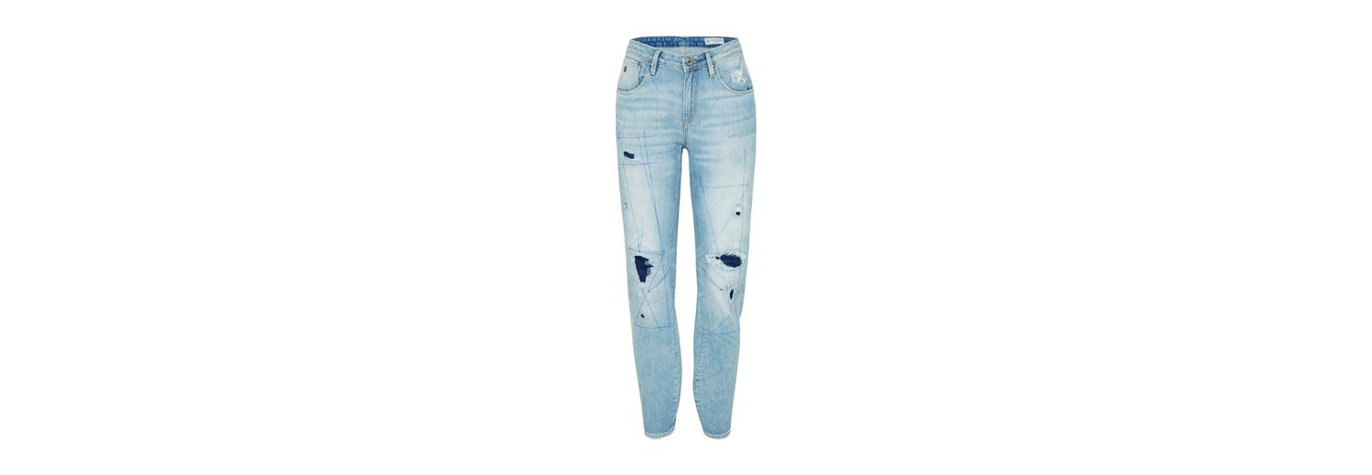 G-Star RAW Loose-fit-Jeans, Ziernaht