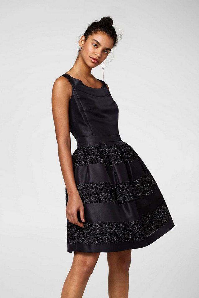 ESPRIT Collection Damen Kleid 048EO1E015, Blau (Navy 400), X-Large ... 74a84e8325
