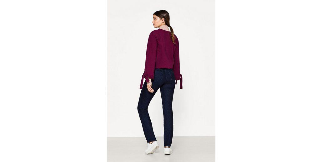 EDC BY ESPRIT Stretch-Jeans mit zwei Knöpfen Billig Mit Kreditkarte Countdown Paket Günstiger Preis Erhalten Verkauf Online Kaufen dE5GA