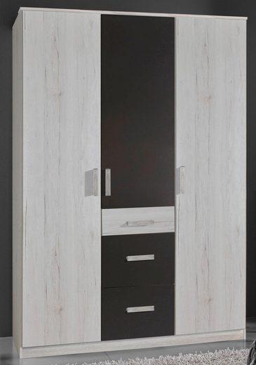 Kleiderschrank »Bergamo« 3-türig