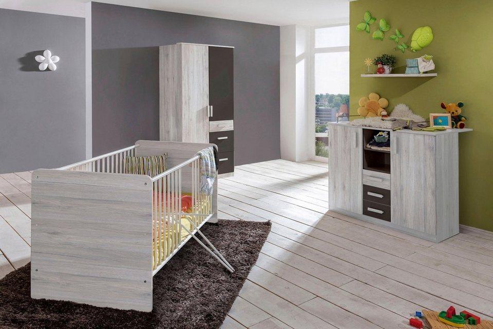 komplett babyzimmer bergamo babybett wickelkommode 2. Black Bedroom Furniture Sets. Home Design Ideas