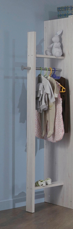 Garderobe »Bergamo« in weißeiche NB