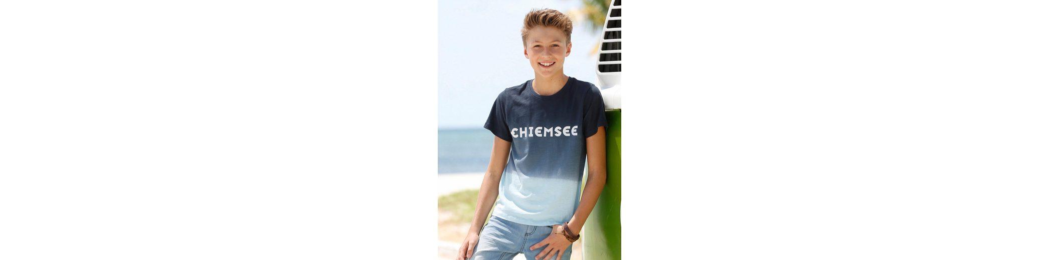 Chiemsee T-Shirt, mit Farbverlauf und Chiemsee-Druck