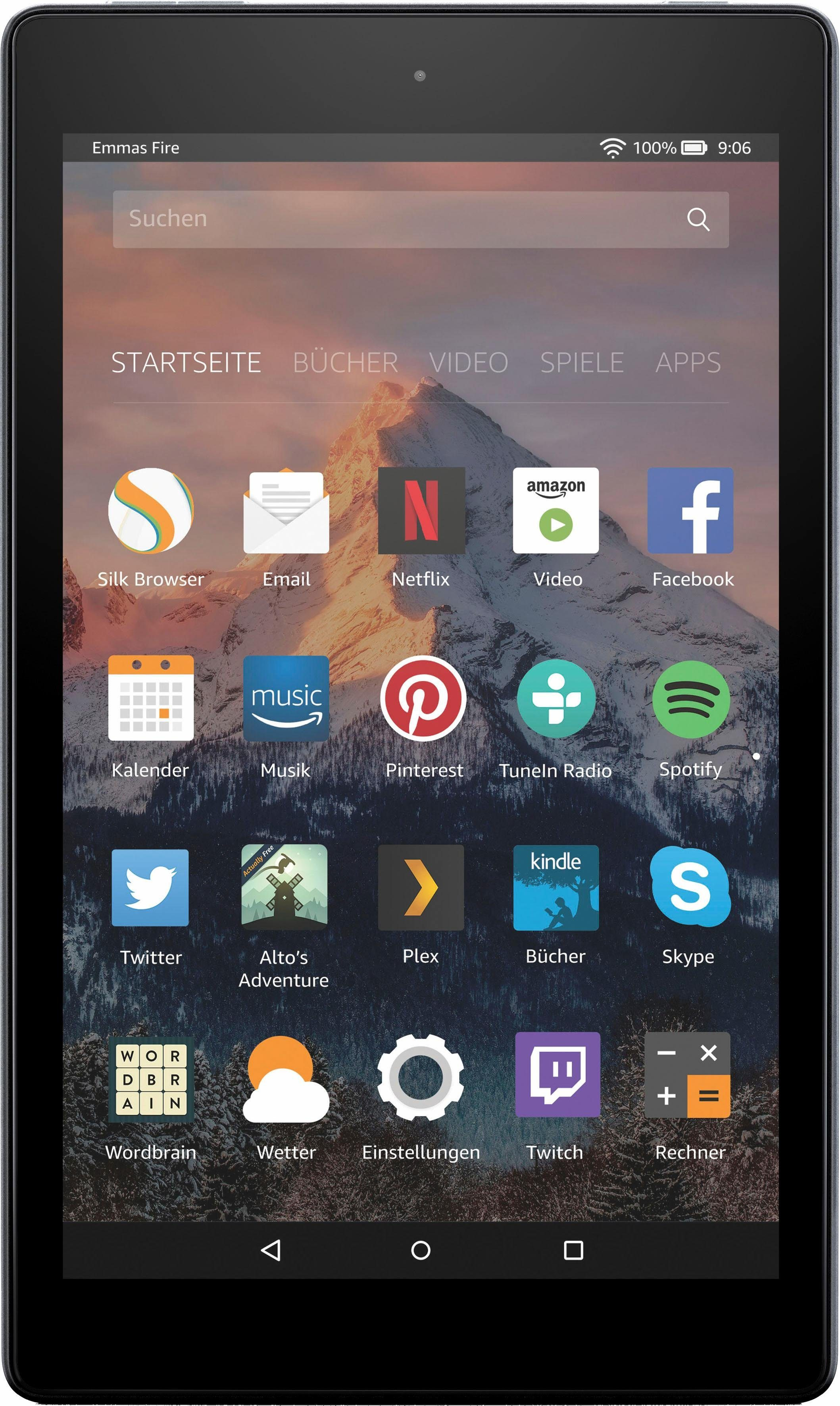 "Fire HD 8 Tablet (8"", 16 GB)"