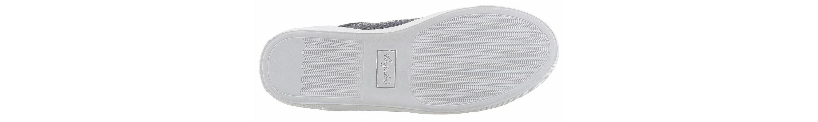 Australian Sneaker, mit dicker, heller Gummilaufsohle