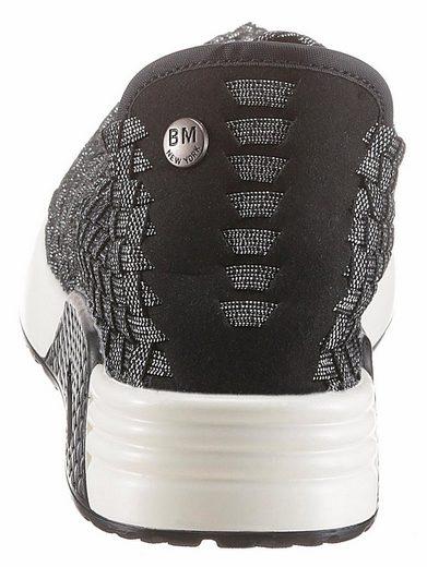 Bernie Mev Best Gem Sneaker, Metallic Shimmer With Trendy