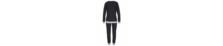 Vivance Dreams Pyjama mit Pünktchen und gestreiftem Bund Spielraum 2018 Günstig Kaufen Modisch Mode-Stil Zu Verkaufen Rabatt Bestellen Neu Q9ikTM