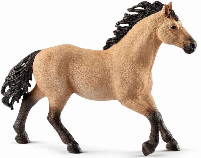 Schleich® Spielfigur »Horse Club, Quarter Horse Hengst (13853)«, Made in Europe
