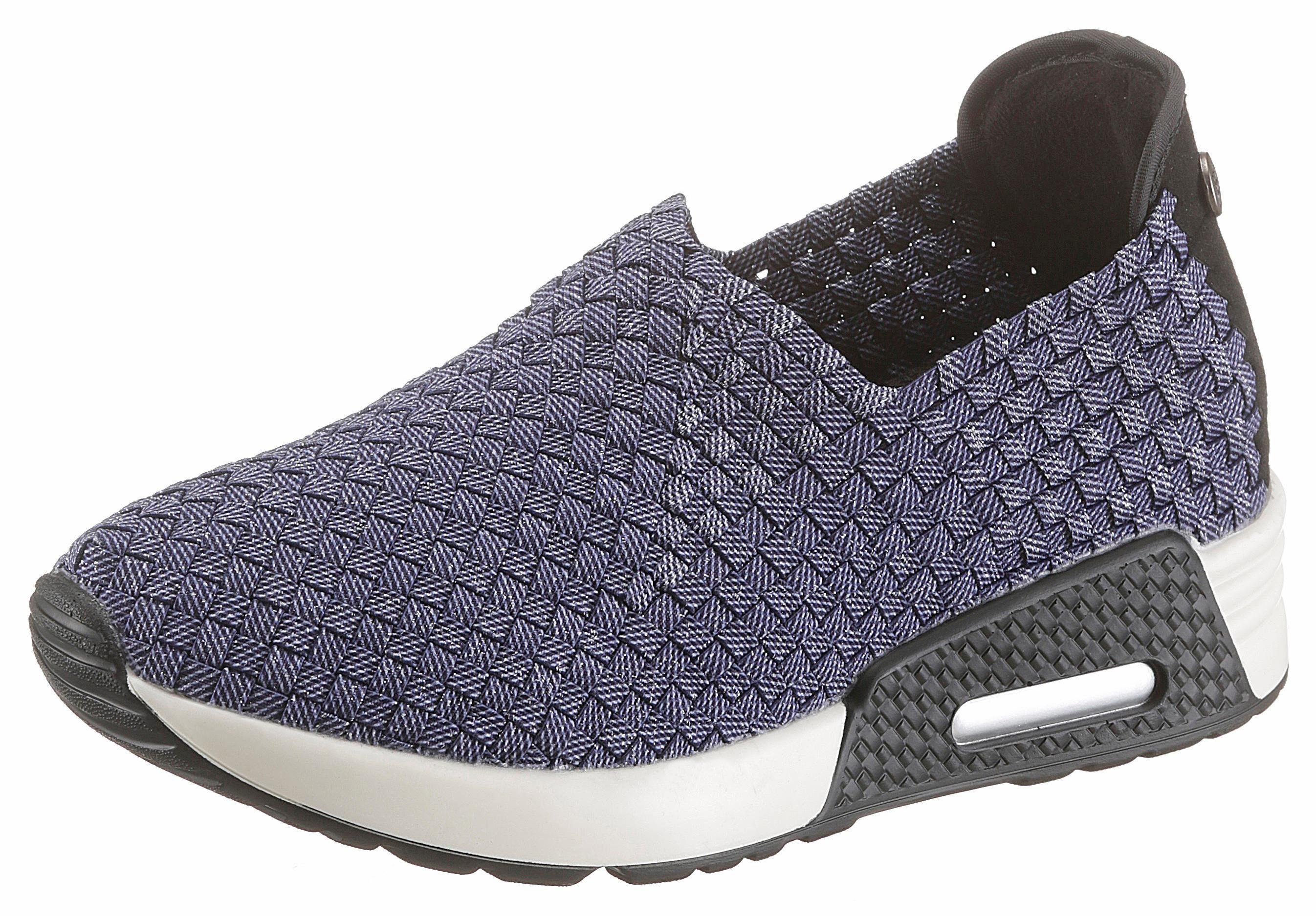 BERNIE MEV Best Gem Sneaker, mit trendigen Metallic-Schimmer online kaufen  jeansblau