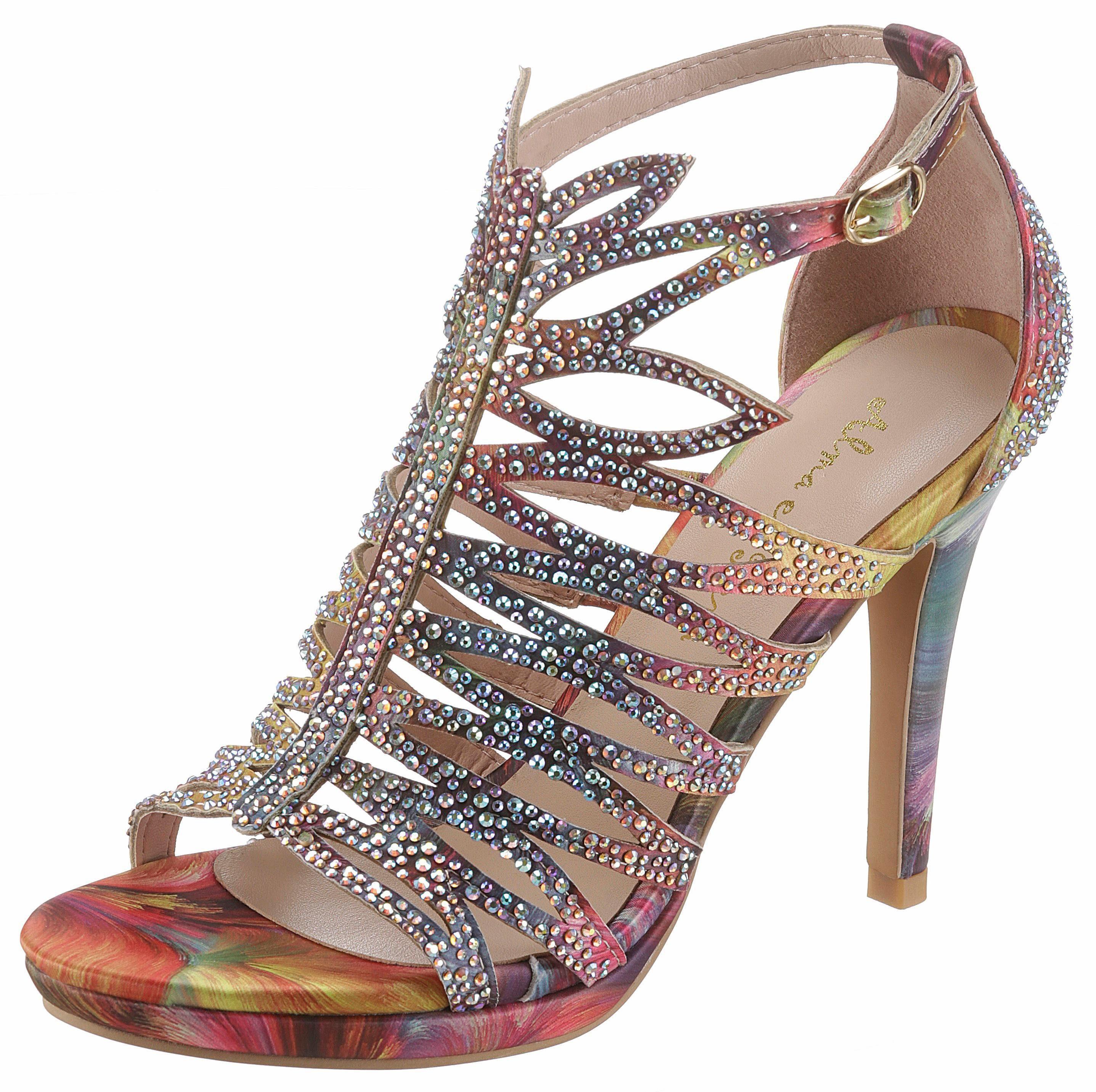 Alma en Pena High-Heel-Sandalette, im auffälligen Look online kaufen  bunt