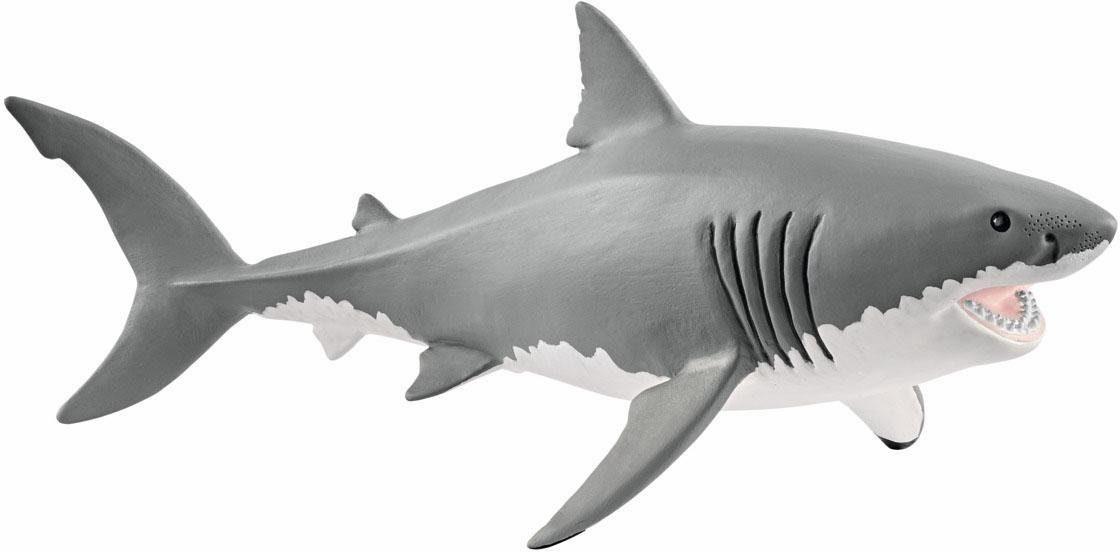 Schleich® Spielfigur (14809), »Wild Life, Weißer Hai«
