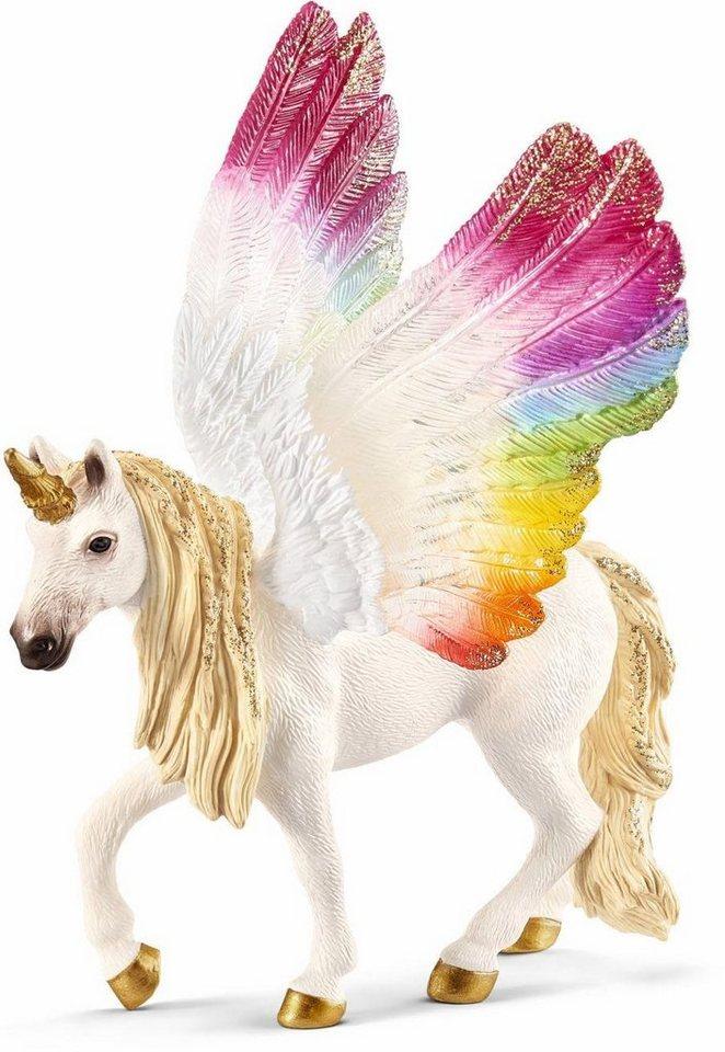 Schleich® Spielfigur (70576),  bayala, Geflügeltes Regenbogeneinhorn  online kaufen