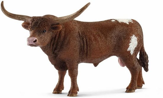 Schleich® Spielfigur »Farm World, Texas Longhorn Bulle (13866)«