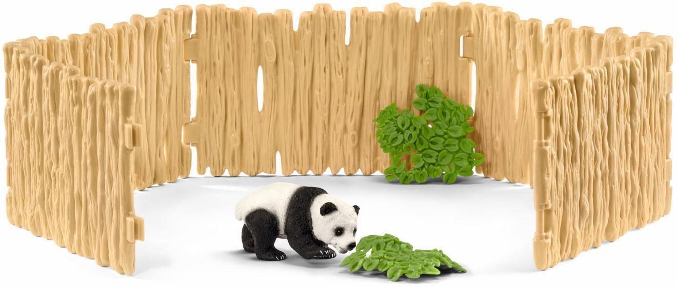Schleich® Spielset (42429), »Wild Life, Gehege für Pandabären«