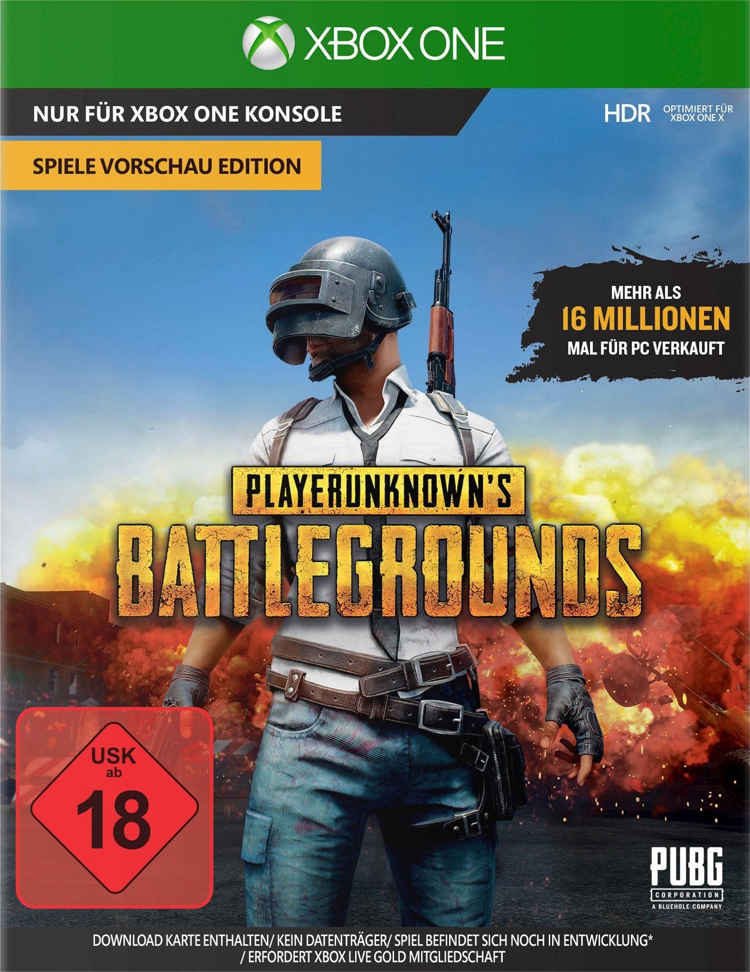 """Playerunknown's Battleground Game Preview Edition """"PUBG"""" Xbox One"""
