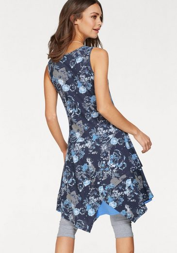 Boysen's Jerseykleid, mit Zipfelsaum
