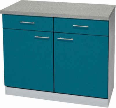 Küchenschrank in blau online kaufen | OTTO