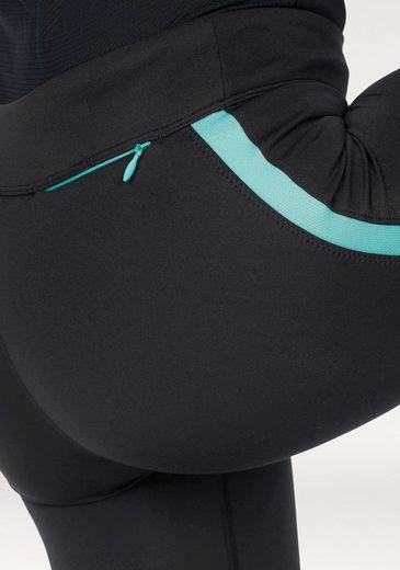 adidas Performance Lauftights RS 3/4 TIGHT W, mit kleiner Bundtasche