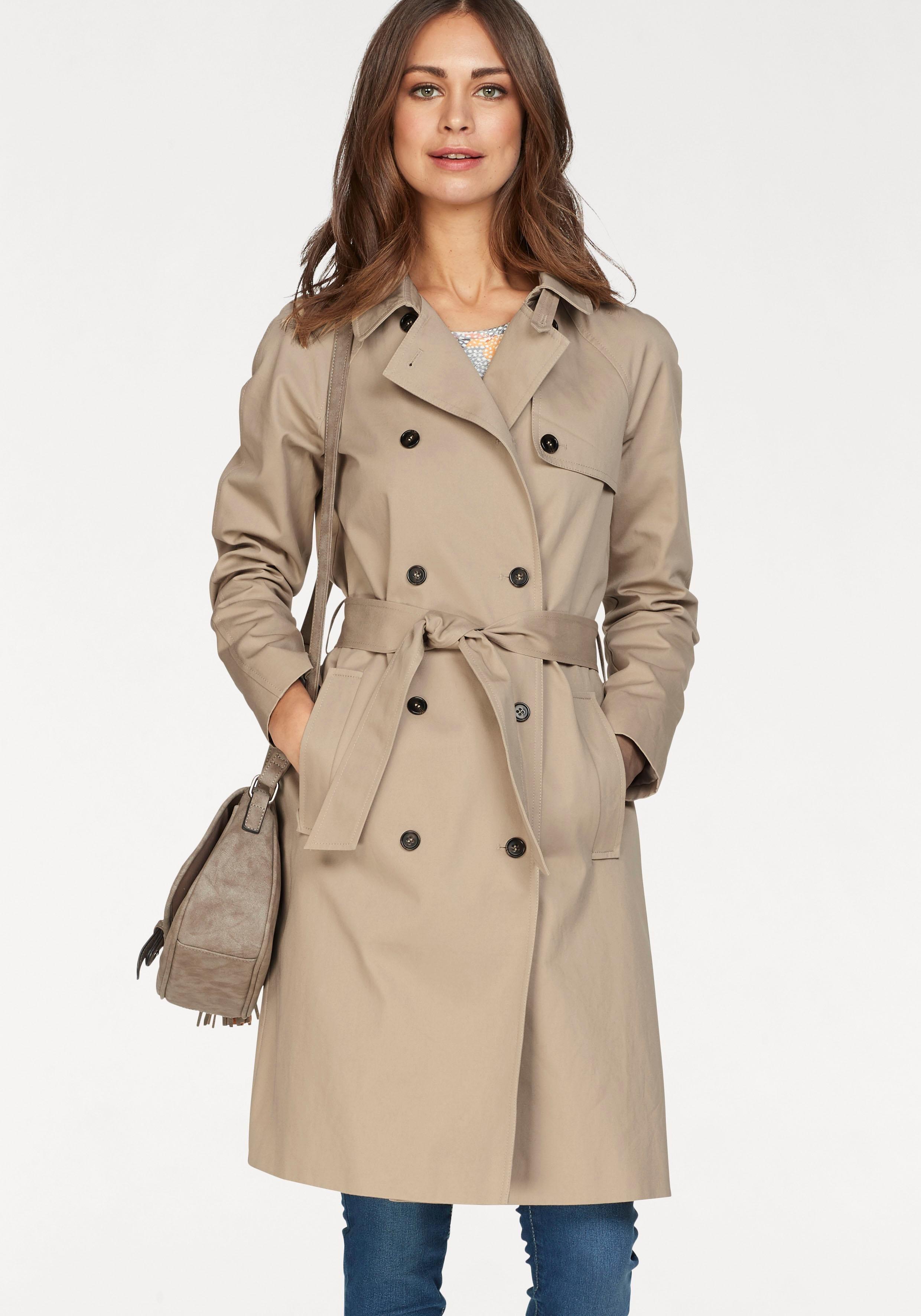 Boysen´s Trenchcoat, 2-reihig im klassischem Style | Bekleidung > Mäntel > Trenchcoats | Boysen´s
