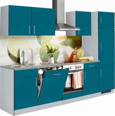 Küchenzeile in blau online kaufen | OTTO