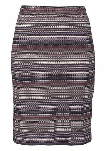 Boysen's Jerseyrock, mit feinem Streifen-Muster