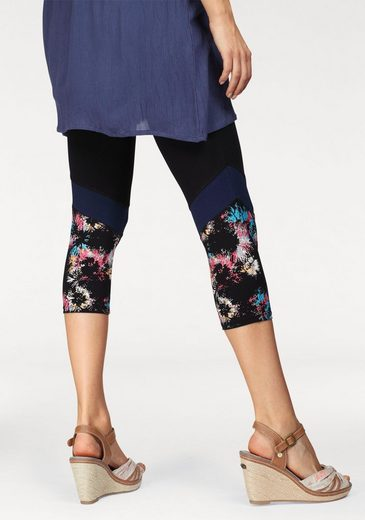 Boysen's Leggings, mit Colorblocking-Details