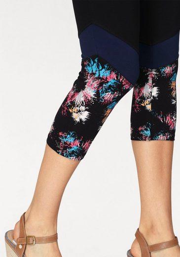 Boysen's Leggings, mit Colorblocking-Details