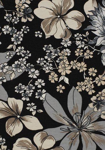 Boysen's T-Shirt, mit floralem Alloverprint
