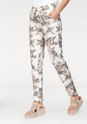 Boysen's Sweathose Jogg-Pant, mit Blumen-Print