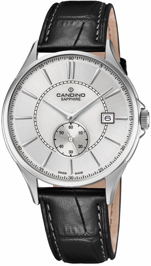 Candino Schweizer Uhr »Classic Timeless, C4634/1« mit dezentraler Sekunde