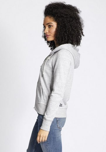Khujo Sweatshirt Morika, With Logo-embroidery On The Front
