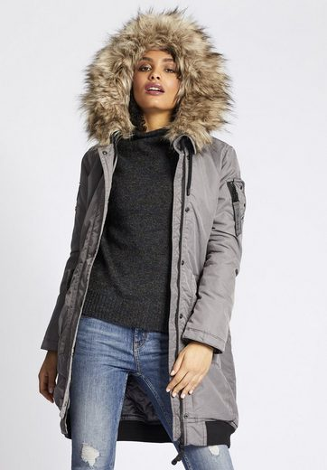 Khujo Parka Anda, With Removable Faux Fur On The Hood