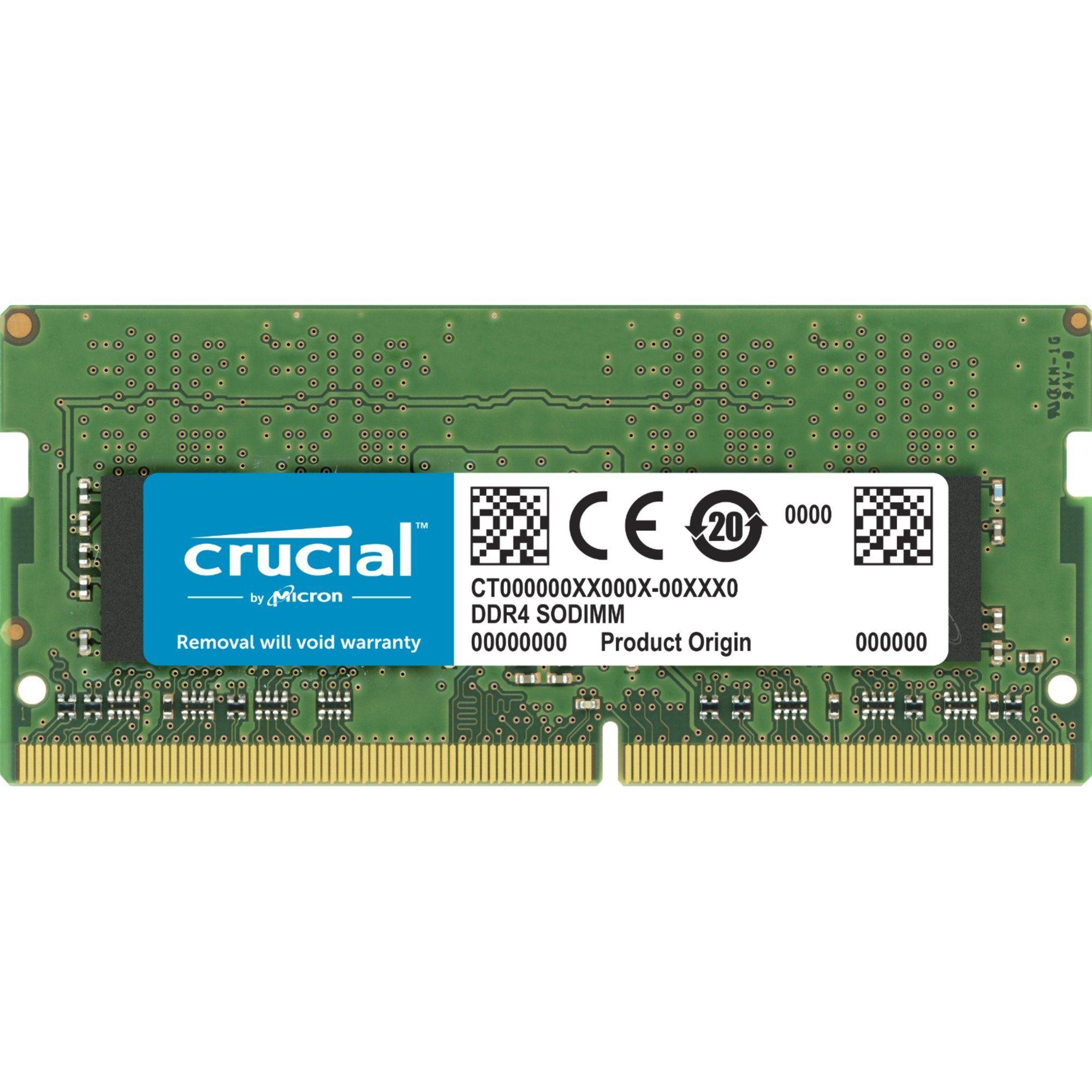 Crucial Arbeitsspeicher »SO-DIMM 8GB DDR4-2400«