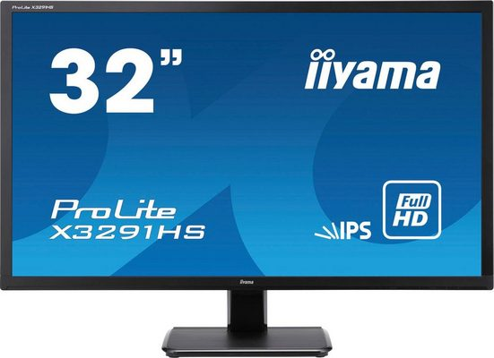 "Iiyama ProLite X3291HS-B1 Gaming-Monitor (80,1 cm/32 "", 1920 x 1080 Pixel, Full HD, 5 ms Reaktionszeit, 60 Hz, IPS)"