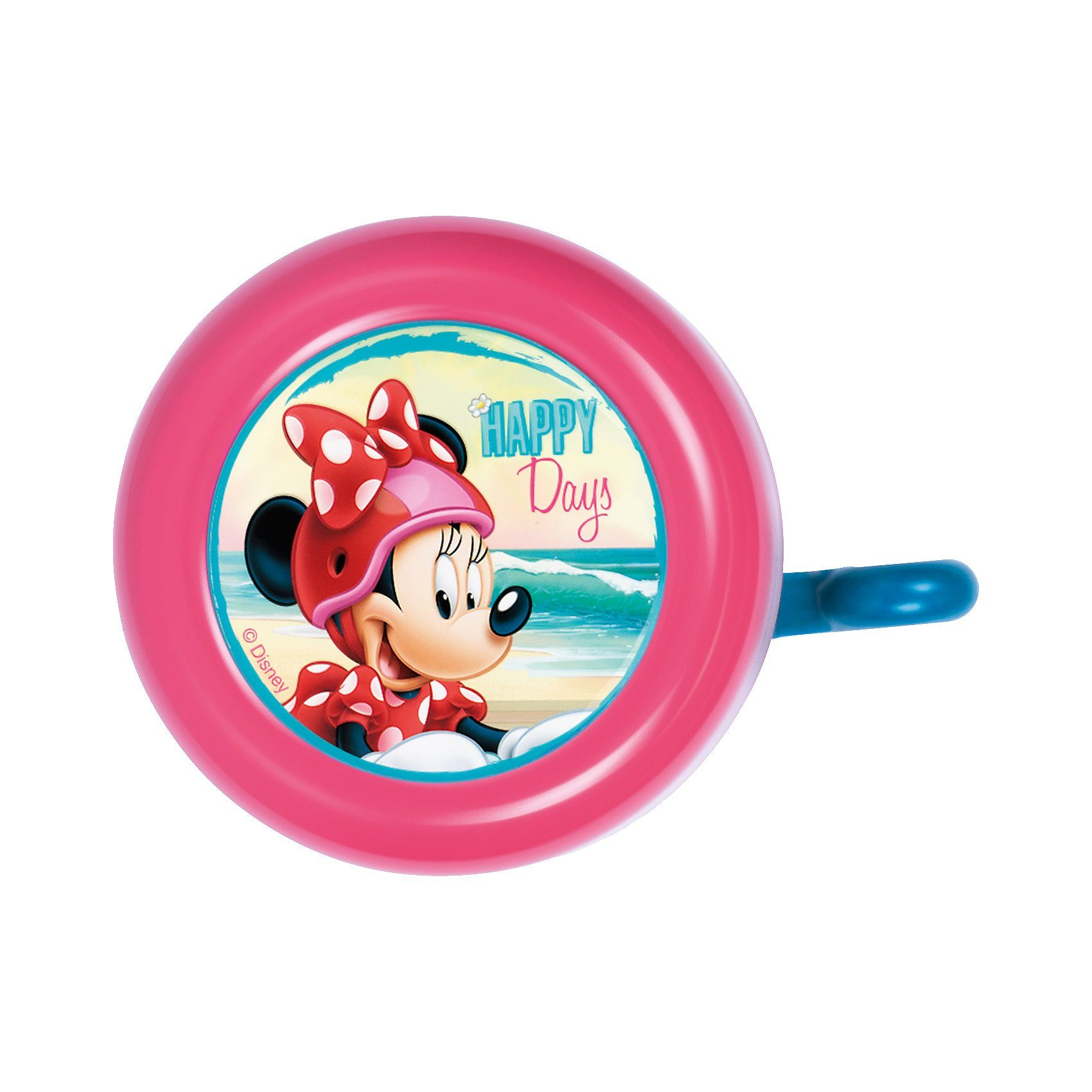 Minnie Mouse Fahrradklingel, pink