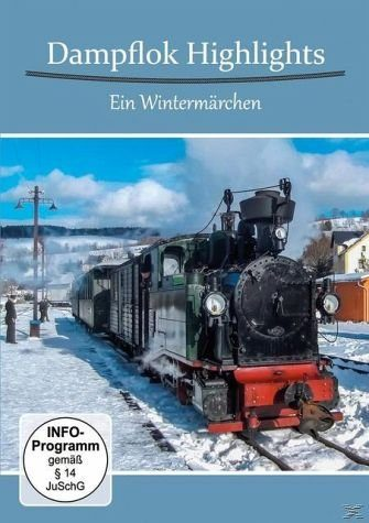 DVD »Dampflok Highlights - Ein Wintermärchen«