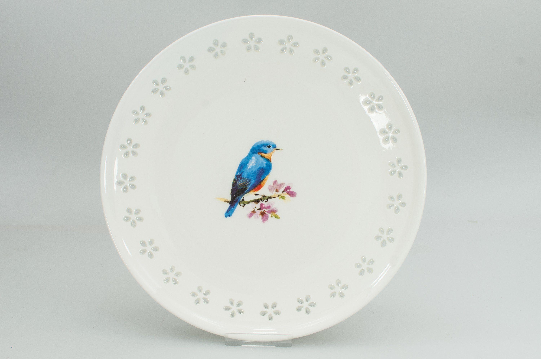 HTI-Line Kuchenteller »Blue Bird«