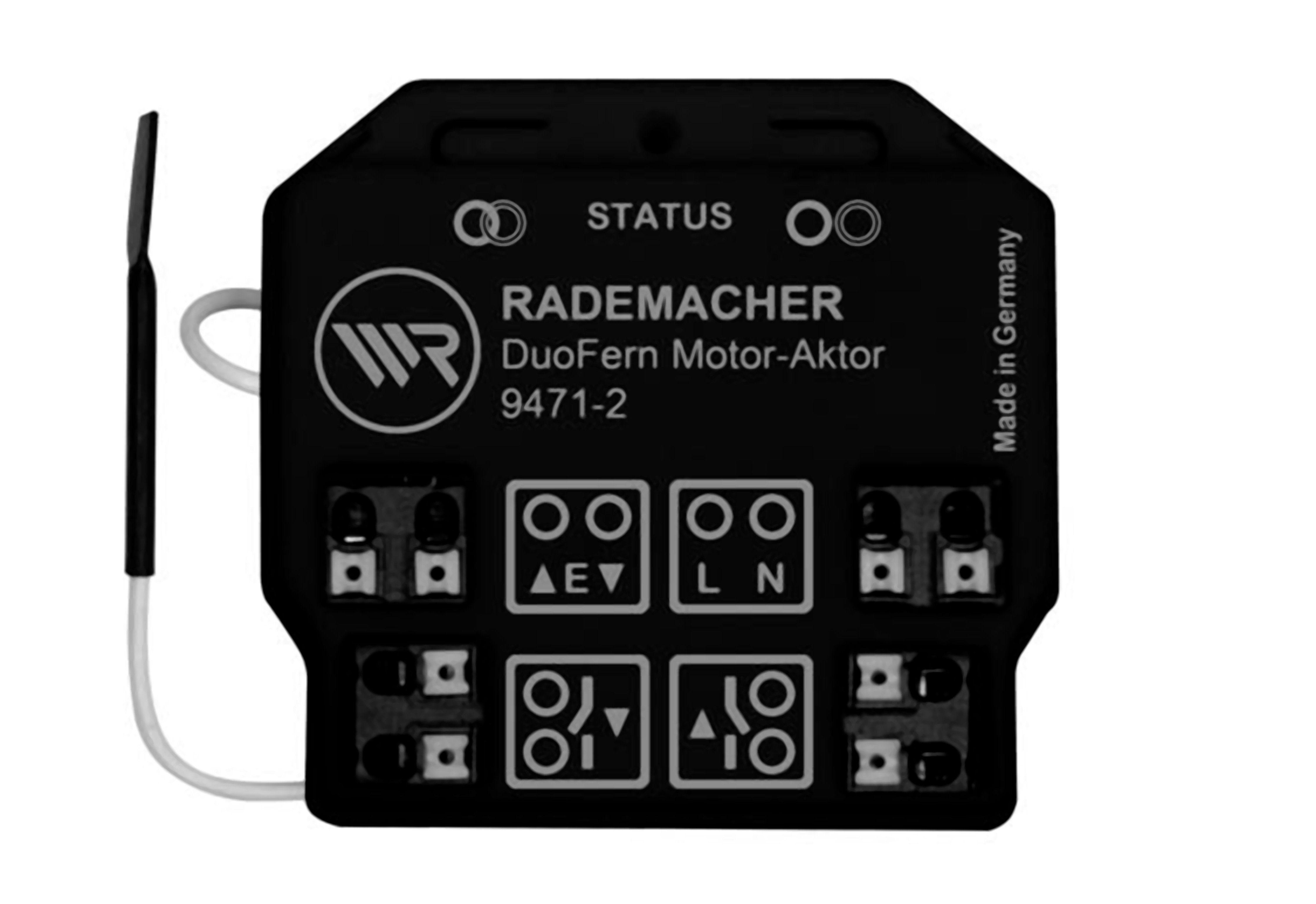 Rademacher Smart Home - potenzialfreier Rohrmotor-Aktor »DuoFern Motor-Aktor 9471-2«