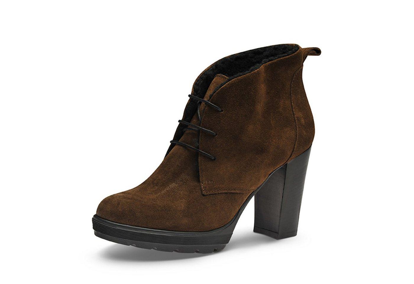 Evita »TUANA« Plateaustiefelette | Schuhe > Stiefeletten > Plateaustiefeletten | Braun | Evita