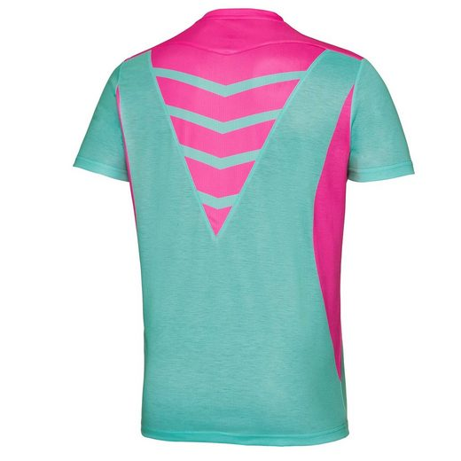 BIDI BADU Tennis Shirt mit V-Ausschnitt