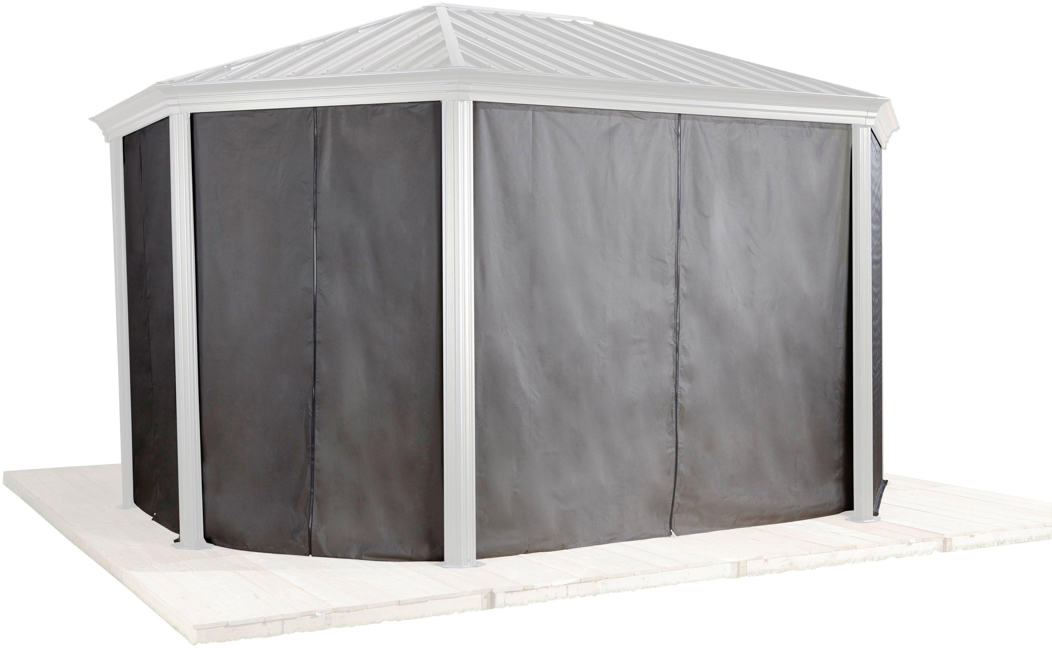 Seitenteile für Pavillon »Komodo 12x18«, 4 Stk.