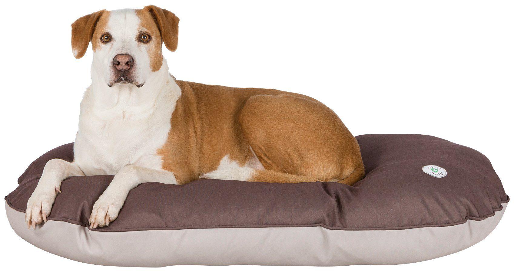 TRIXIE Hundekissen und Katzenkissen »Insect Shield«, BxT: 110x70 cm, beige/braun