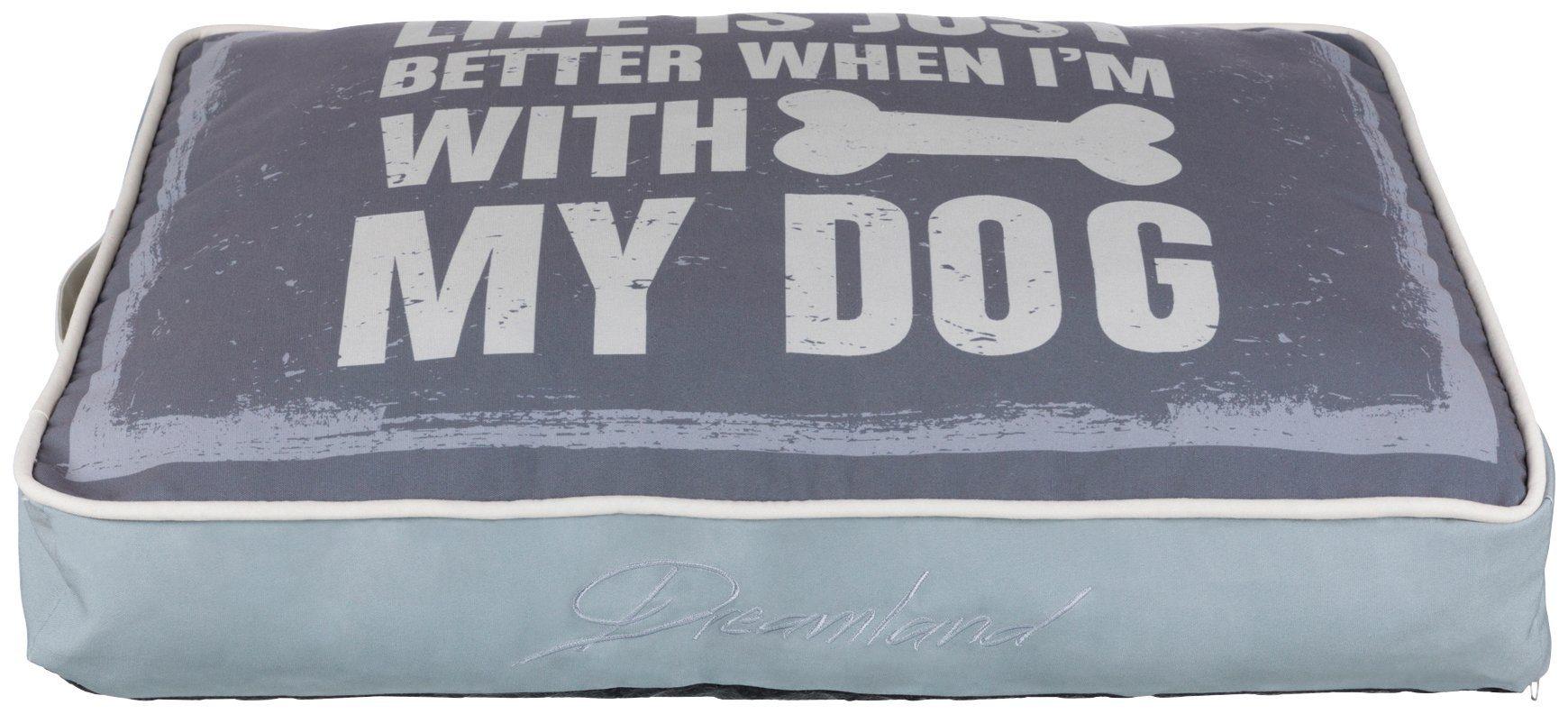 TRIXIE Hundekissen und Katzenkissen »Buddy«, BxT: 90x60 cm, grau
