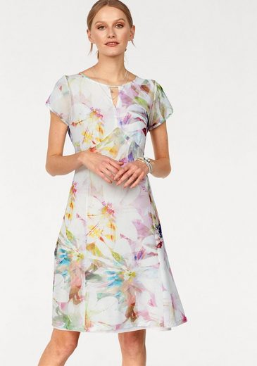 Daniel Hechter Summer Dress In Floral Dessin