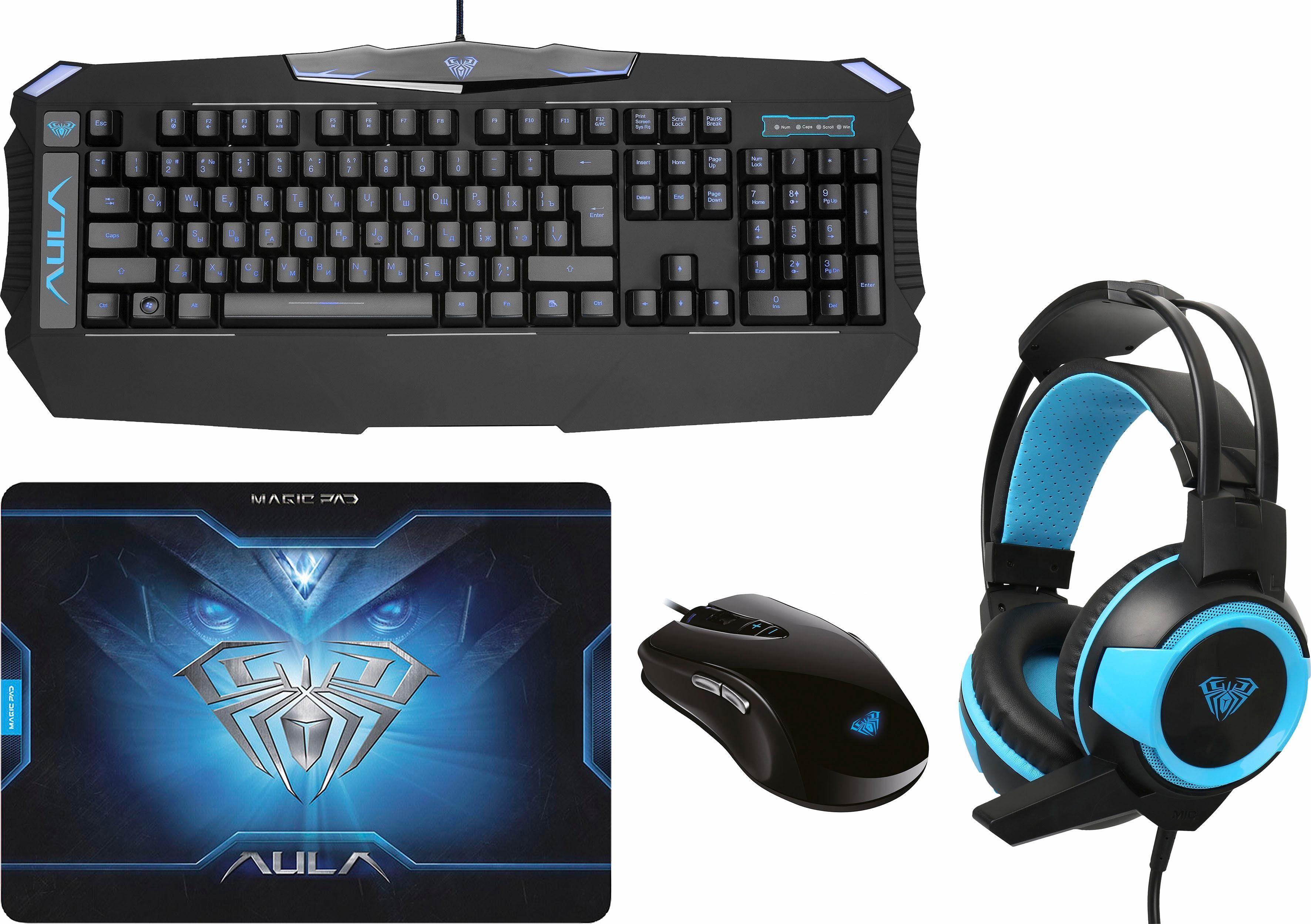 AULA Pro Bundle Gaming Zubehör